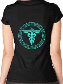 Psycho Pass Ministery Symbol Women's Fitted Scoop T-Shirt