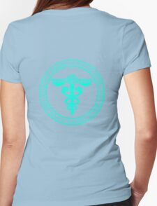 Psycho Pass Ministery Symbol Womens Fitted T-Shirt