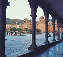 Plaza de Armas Arches by mar78me