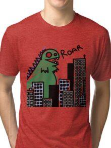 Derpasaur Attack! Tri-blend T-Shirt