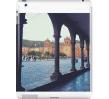 Plaza de Armas Arches iPad Case/Skin