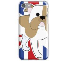 English Bulldog Flag iPhone Case/Skin