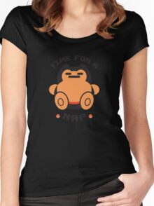 Time for a Nap Women's Fitted Scoop T-Shirt