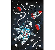 Space Walk Photographic Print
