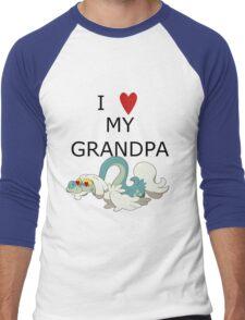 I Love My Grandpa Men's Baseball ¾ T-Shirt