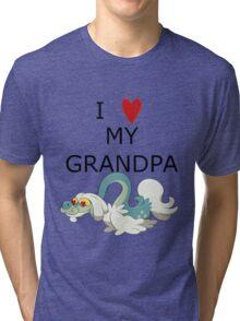 I Love My Grandpa Tri-blend T-Shirt