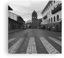 Calle del Medio Canvas Print