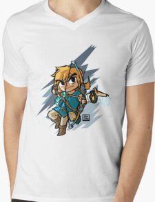 Link breath of the wild Mens V-Neck T-Shirt