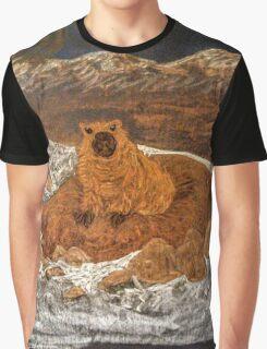 Good Morning, Mr. Groundhog! Graphic T-Shirt