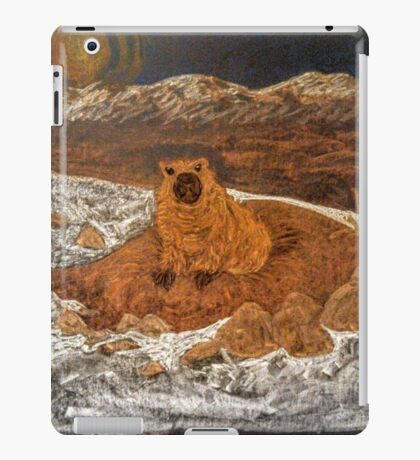 Good Morning, Mr. Groundhog! iPad Case/Skin
