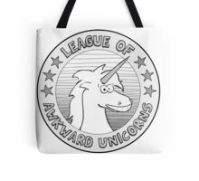 The League of Awkward Unicorns Official Gear Tote Bag