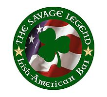 TSLB Shamrock on flag in halo by SavageLegendBar
