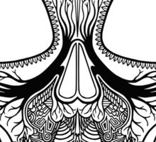 Inked Candy Skull - Journey Sticker