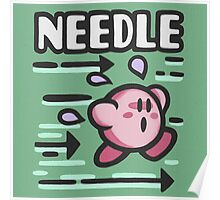 Kirby Needle Poster