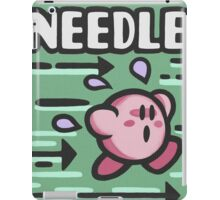 Kirby Needle iPad Case/Skin