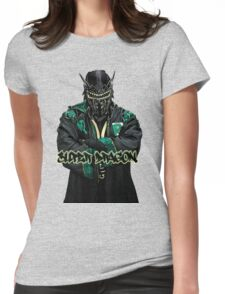 Super Dragon Womens Fitted T-Shirt