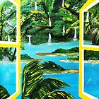 Falls Out The  Window by WhiteDove Studio kj gordon