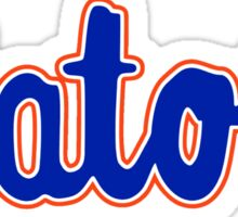 GATORS Script Sticker