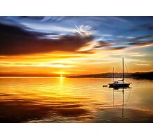 Port Angeles Sunrise - Washington Photographic Print