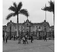 Plaza Mayor de Lima Photographic Print