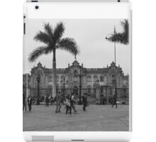 Plaza Mayor de Lima iPad Case/Skin