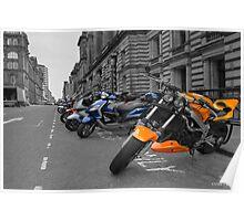 Bikes - take 2 Poster