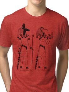 Egyptian Gods Tri-blend T-Shirt