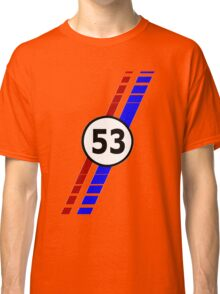 VW 53, Herbie the Love Bug's racing stripes and number 53 Classic T-Shirt