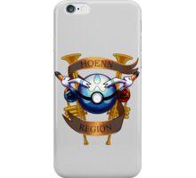 Hoenn Region Crest iPhone Case/Skin