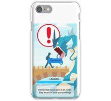 WARNING!!! iPhone Case/Skin