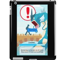 WARNING!!! iPad Case/Skin