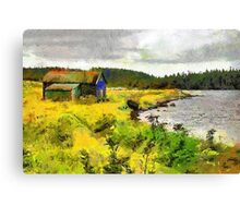 Black Duck Cove Canvas Print