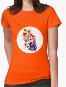 Chica chica boom chic Womens Fitted T-Shirt