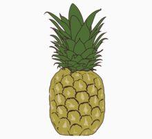 Pineapple One Piece - Short Sleeve