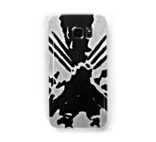 Wolverine Silhouette  Samsung Galaxy Case/Skin