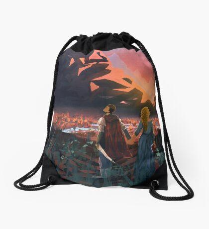 Journey's End Drawstring Bag