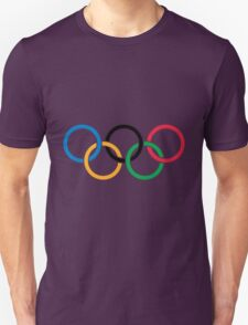 The olympic rings Unisex T-Shirt
