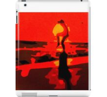 Karate Kid Crane Kick iPad Case/Skin