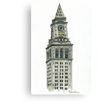 Custom House Canvas Print