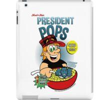 President Pops (Pete and Pete parody) iPad Case/Skin