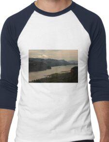 Early Morning At Chanticleer Point ©  Men's Baseball ¾ T-Shirt