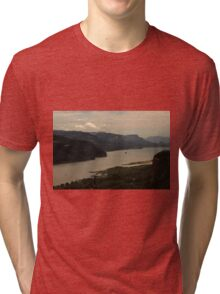Early Morning At Chanticleer Point ©  Tri-blend T-Shirt