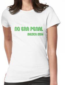 No era Penal! #NoEraPenal Womens Fitted T-Shirt