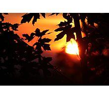 Southern Oregon Sunset Photographic Print
