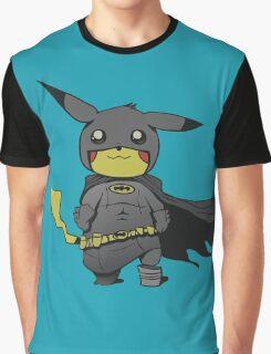 Bat Pikachu Graphic T-Shirt