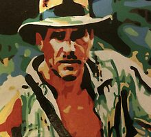 Indiana Jones by Matthew Colebourn