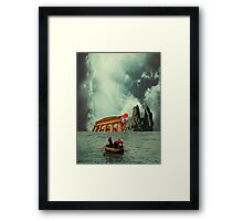 We Are All Fishermen Framed Print