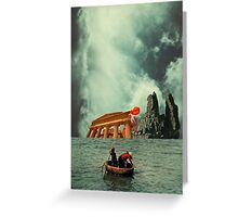 We Are All Fishermen Greeting Card