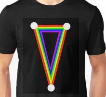Rainbow dagger  Unisex T-Shirt