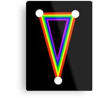 Rainbow dagger  Metal Print